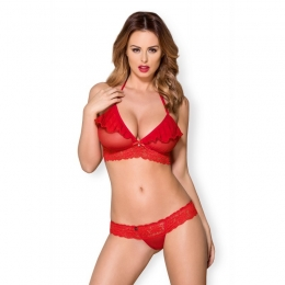 863-SET-3 Ensemble 2 pcs - Rouge
