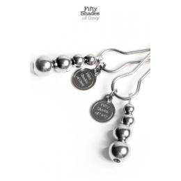 Bijoux de seins réglables - Fifty Shades Of Grey
