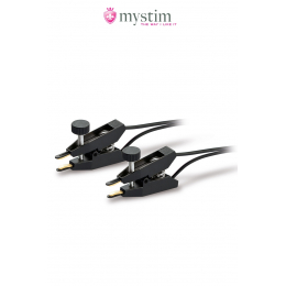Pinces électro-stimulation Barry Bite - Mystim
