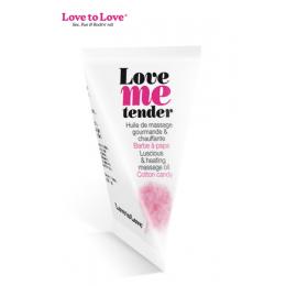 Berlingot huile massage comestible Love me Tender