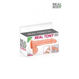 Gode réaliste 18 cm - Real Tony