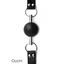 Solid Ball Gag - Black