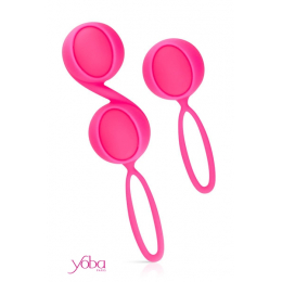Kit 2 boules de Geisha Yoba - rose