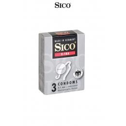 3 préservatifs Sico X-TRA