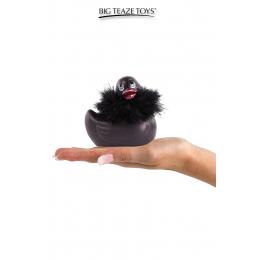 Mini canard vibrant Duckie Paris - noir