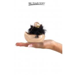 Mini canard vibrant Duckie Paris - doré