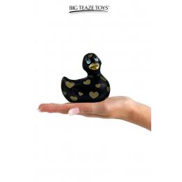 Mini canard vibrant Romance noir et or