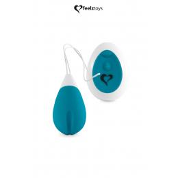 Oeuf vibrant Anna turquoise - Feelztoys