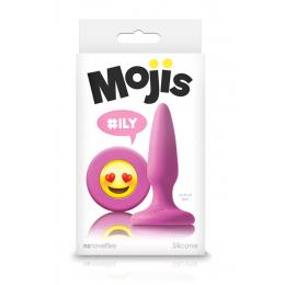 Plug Anal Mojis ILY Small - rose