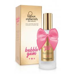 Lubrifiant et massage Bubble Gum
