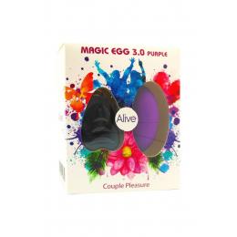 Oeuf vibrant télécommandé Magic egg 3 - violet