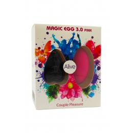 Oeuf vibrant télécommandé Magic egg 3 - rose