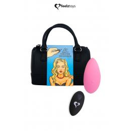 Stimulateur télécommandé Panty Vibe rose - FeelzToys