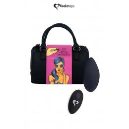 Stimulateur télécommandé Panty Vibe noir - FeelzToys