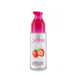 Lubrifiant parfumé fraise 50ml - Yoba