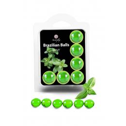 6 Brazilian Balls - menthe