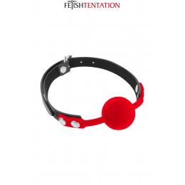 Baillon boule rouge - Fetish Tentation