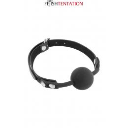 Baillon boule noir - Fetish Tentation