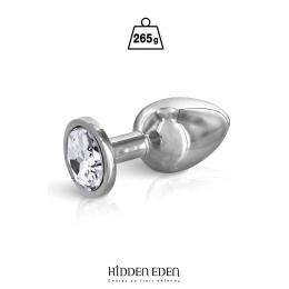 Plug bijou acier M - Hidden Eden