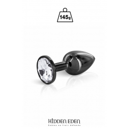 Plug bijou acier noir S - Hidden Eden