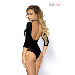 Body sexy noir Muriel - Anaïs