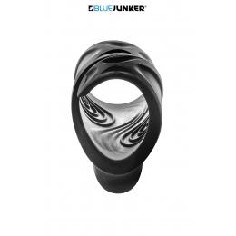 Masturbateur vibrant USB Compact Lines - Blue Junker