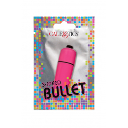 Mini vibro Bullet rose 3 vitesses - CalExotics