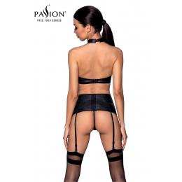 Ensemble sexy faux cuir Nancy - Passion