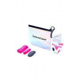 Culotte vibrante télécommandée Secret Panty 2 rose fluo