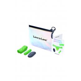 Culotte vibrante télécommandée Secret Panty 2 vert fluo
