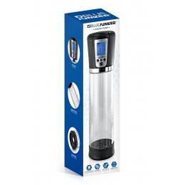 Pompe à pénis numérique et écran LCD  - Blue Junker