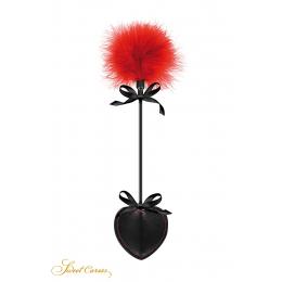 Tapette pique avec pompon rouge - Sweet Caress